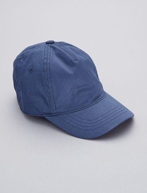 Casquette unie                                         bleu