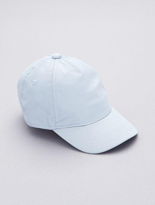 Casquette unie                                         bleu gris