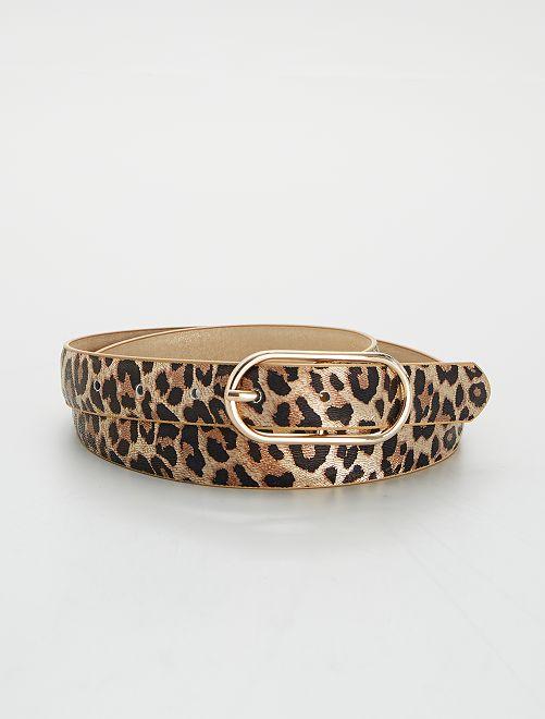 Ceinture léopard                             léopard