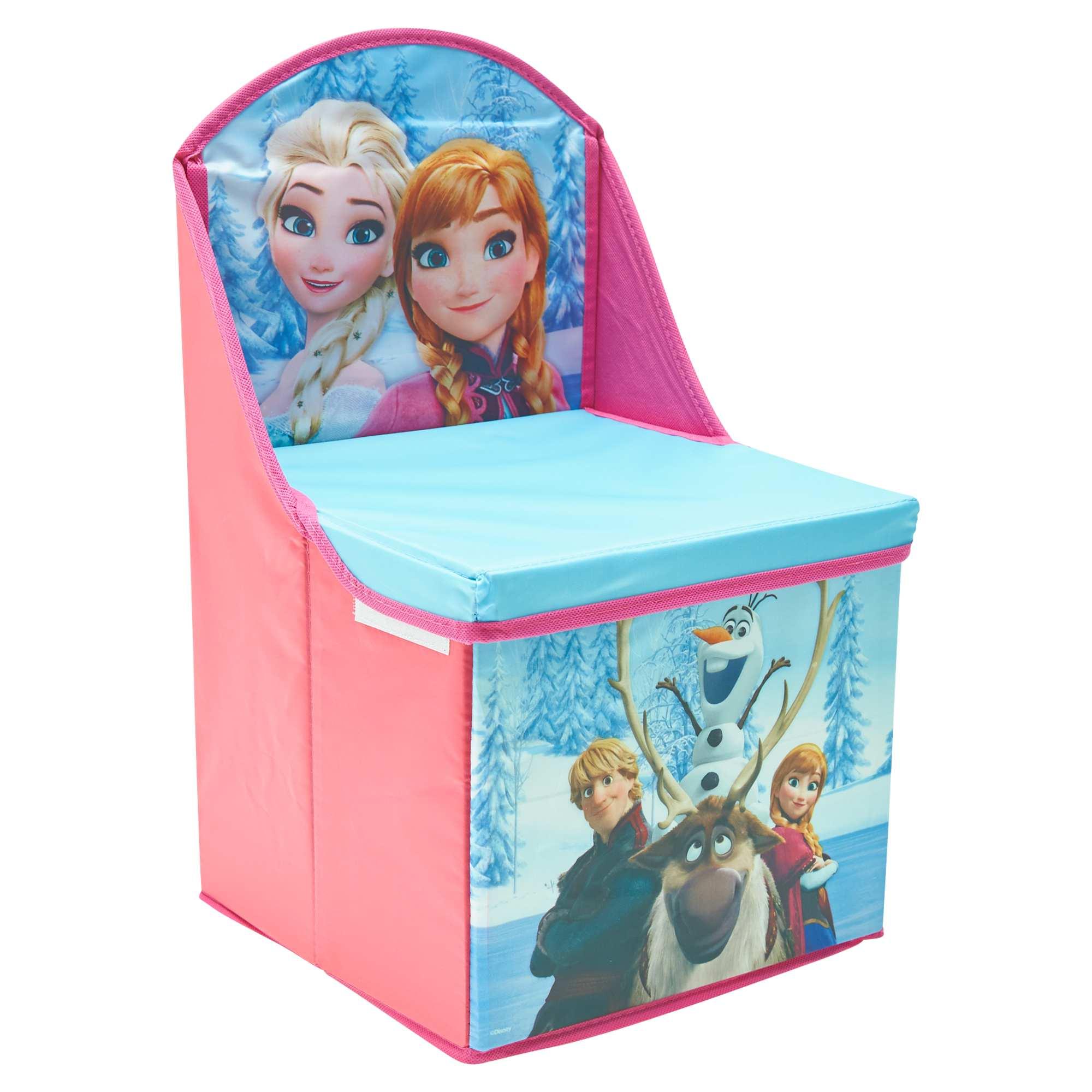 Chaise pliable de rangement 39 la reine des neiges 39 linge de lit rose kiabi 12 00 - Fauteuil la reine des neiges ...