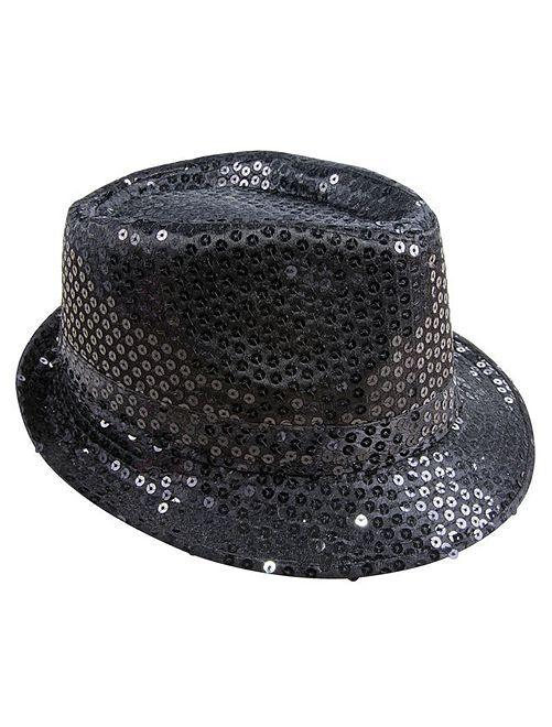 Chapeau à sequins                                         noir