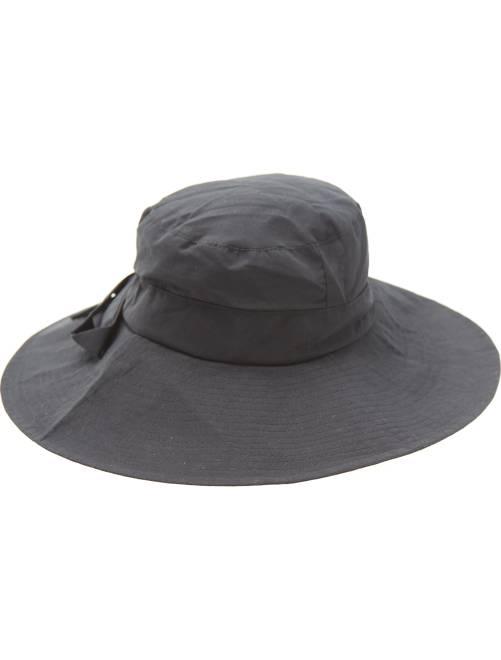 Chapeau avec noeud                             noir Femme