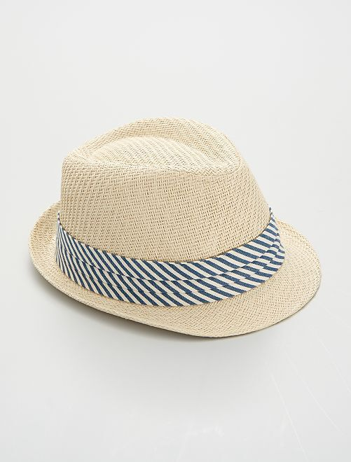 Chapeau borsalino                             beige
