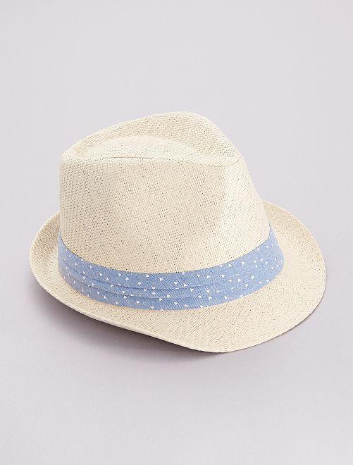Chapeau borsalino                             bleu