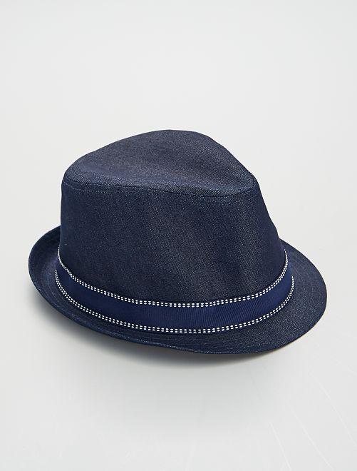Chapeau borsalino                             bleu marine