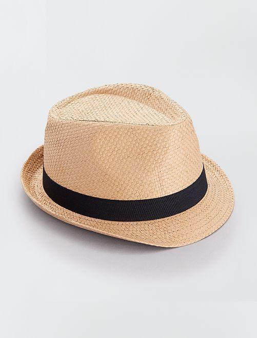 Chapeau borsalino                                         brun
