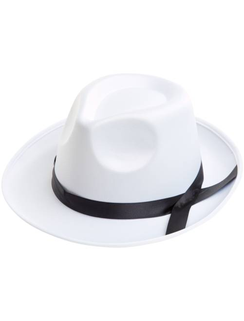 Chapeau borsalino effet satin                                         blanc Accessoires