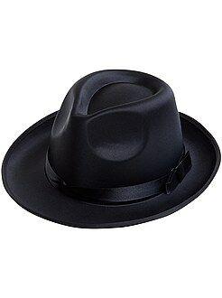 Accessoires - Chapeau borsalino effet satin