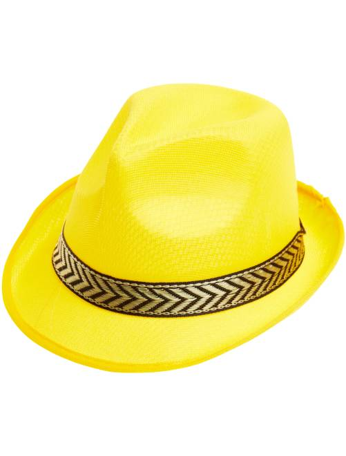 Chapeau borsalino                                                                                          jaune