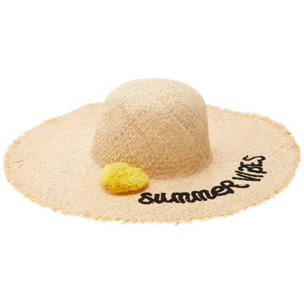 best selling pick up really comfortable Chapeau capeline avec pompon