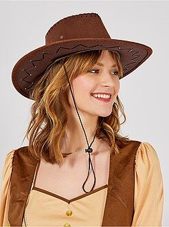 Accessoires - Chapeau de cow boy - Kiabi