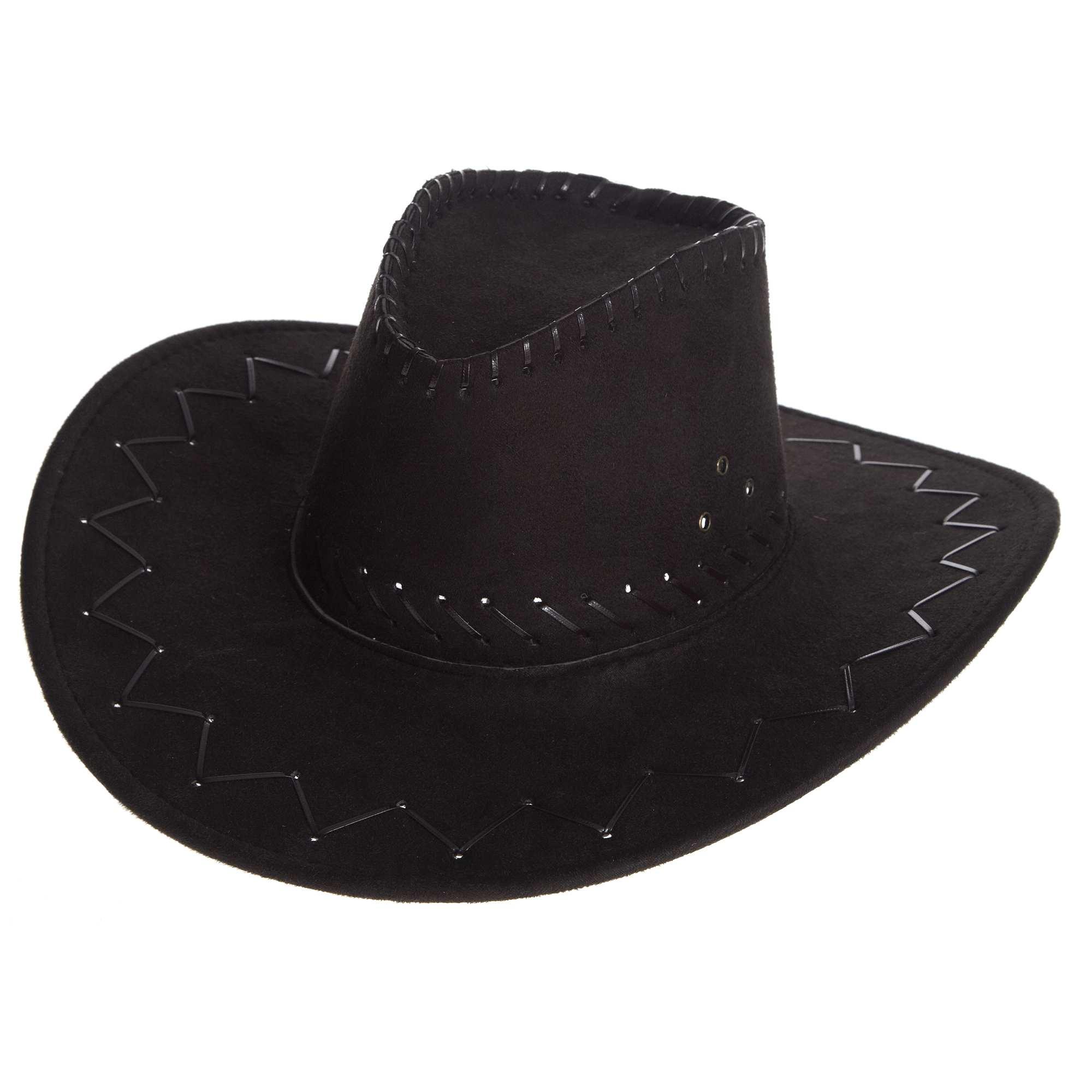chapeau de cow boy homme noir kiabi 5 00. Black Bedroom Furniture Sets. Home Design Ideas