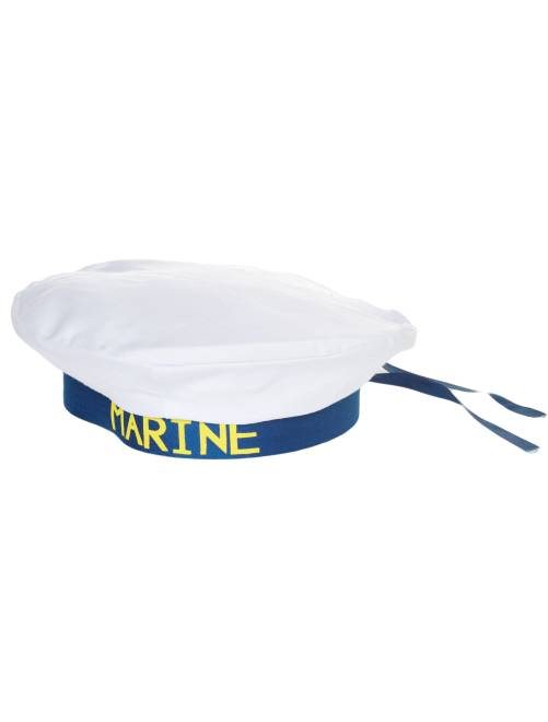 Chapeau de marin                             blanc/bleu Accessoires