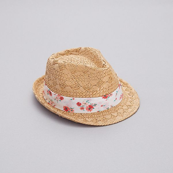 buying now factory outlet ever popular Chapeau de paille à fleurs