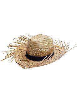 Accessoires - Chapeau de paille - Kiabi