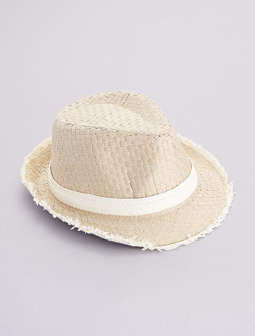 Chapeau de paille                             beige