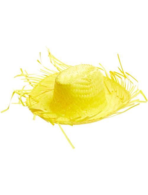 Chapeau de paille                                                     jaune