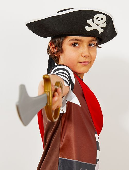 Chapeau de pirate enfant                              noir
