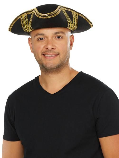 Chapeau de pirate                              noir