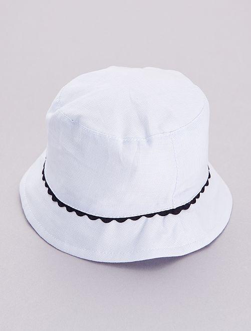 Chapeau de soleil                             bleu ciel
