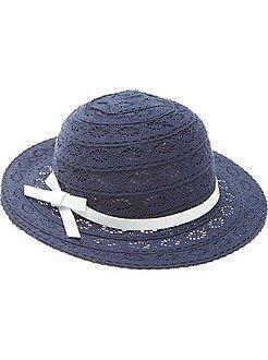Accessoire - Chapeau en dentelle - Kiabi