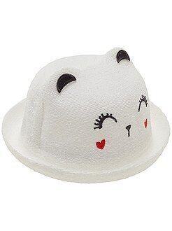 Accessoire - Chapeau façon bouclette 'chat'