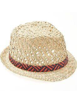 Garçon 3-12 ans - Chapeau forme borsalino - Kiabi