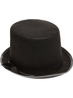 Accessoires - Chapeau haut de forme uni - Kiabi