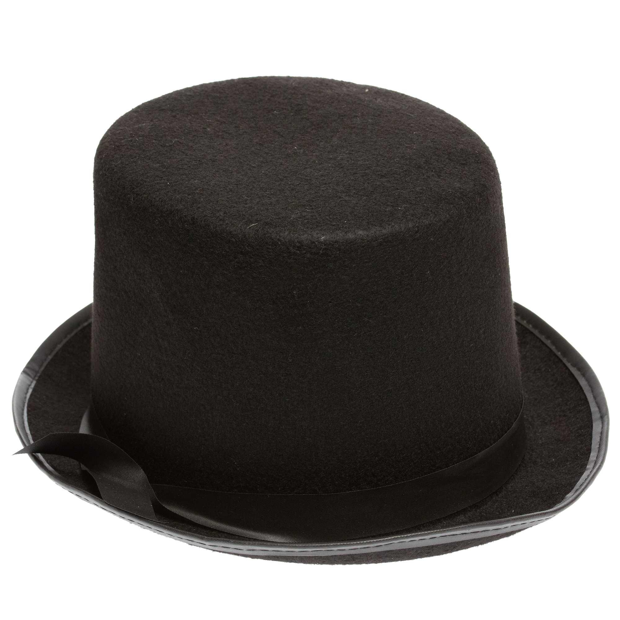 chapeau haut de forme uni accessoires noir kiabi 4 00. Black Bedroom Furniture Sets. Home Design Ideas