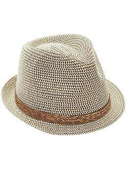 Accessoire - Chapeau panama bord court - Kiabi