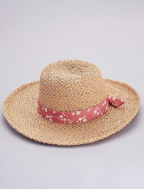 Chapeau style capeline                             beige