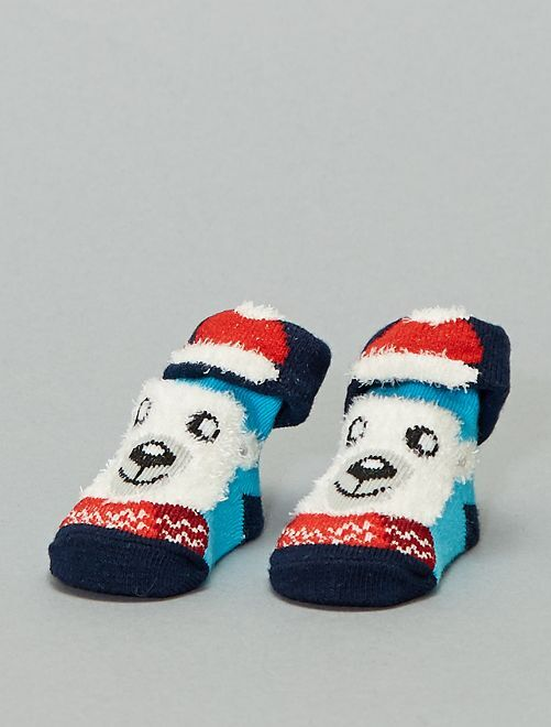 Chaussettes Noël                                         ours