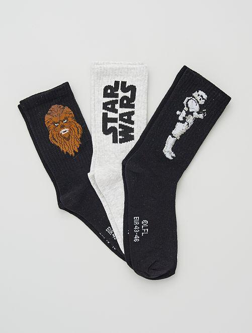 Chaussettes 'Star Wars'                             KAKI