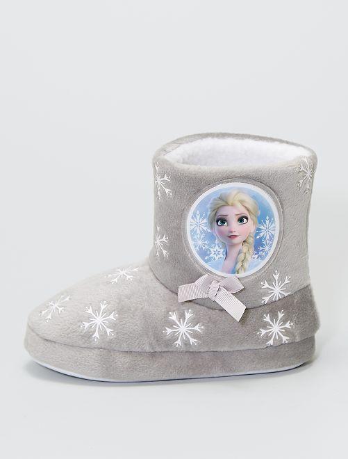 Chausson boots la 'Reine des Neiges'                             gris