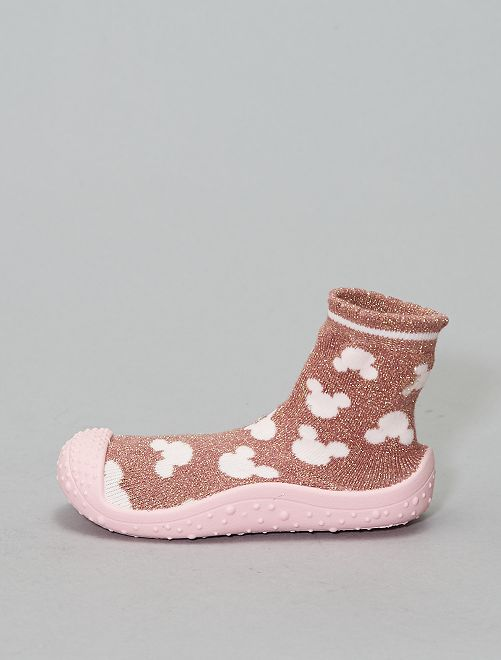 Chausson chaussette 'Minnie' 'Disney'                             rose