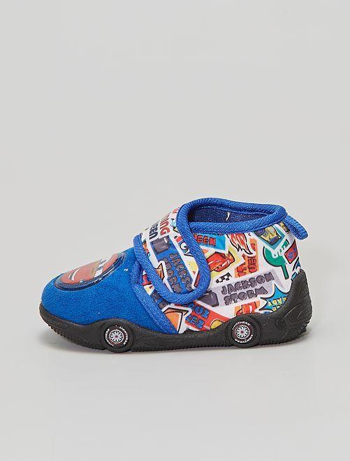 Chaussons à scratch 'Cars'                                         bleu