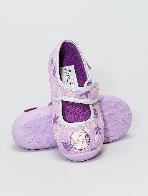 Chaussons ballerine la 'Reine des Neiges' 'Disney'                             violet