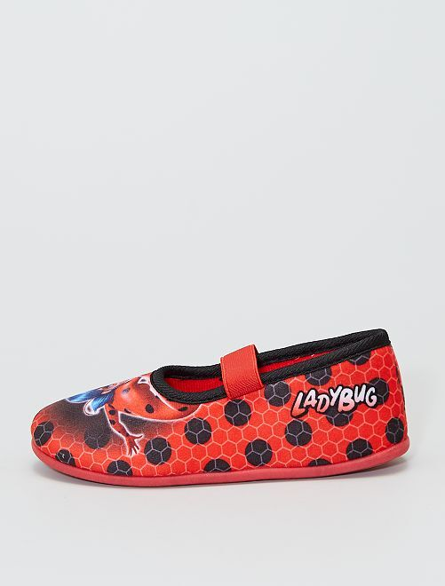 Chaussons ballerine 'Miraculous'                             rouge