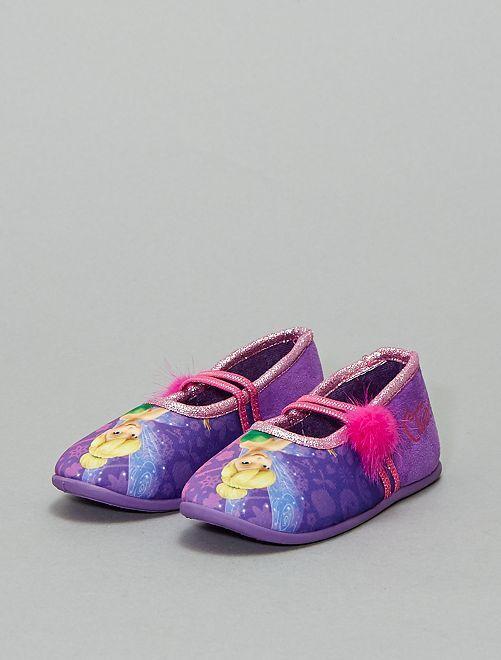 Chaussons ballerines 'La Fée Clochette'                             violet