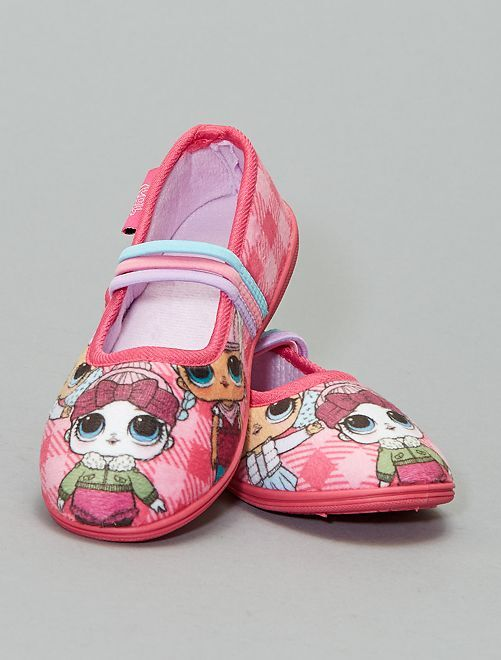 Chaussons ballerines 'L.O.L. Surprise ! !'                             rose