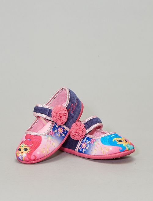 Chaussons ballerines 'Shimmer & Shine'                             rose Fille
