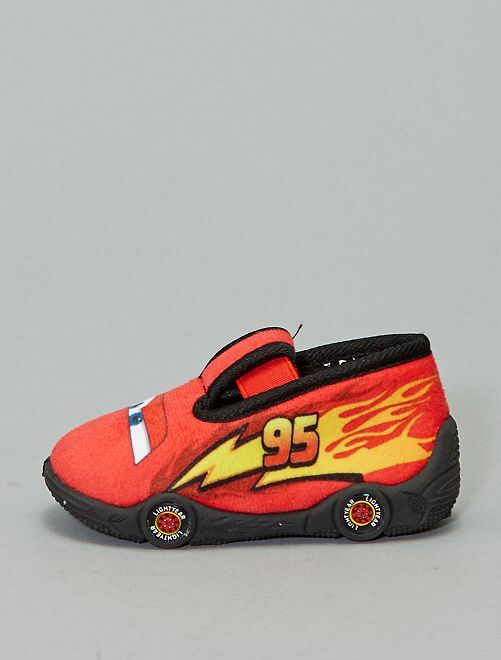 Chaussons bas 'Cars'                             rouge