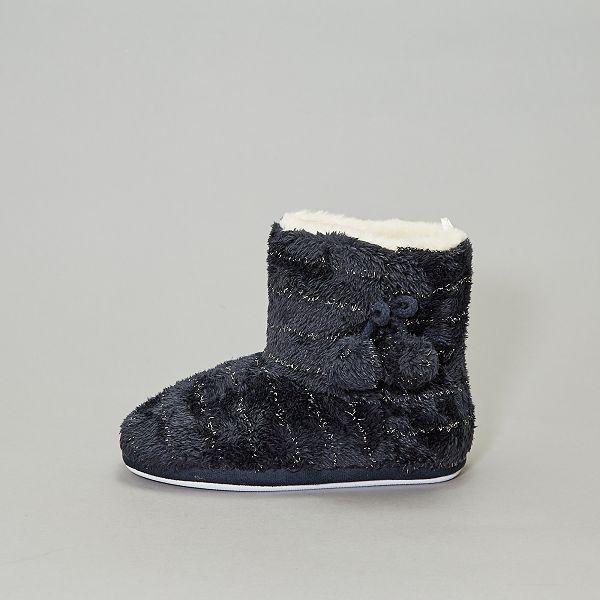 magasins populaires la clientèle d'abord site web pour réduction Chaussons boots fourrés