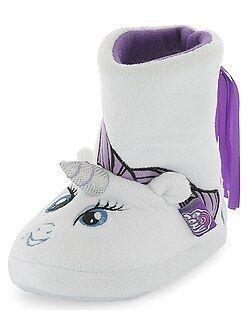 Chaussons boots licorne 'Mon Petit Poney'