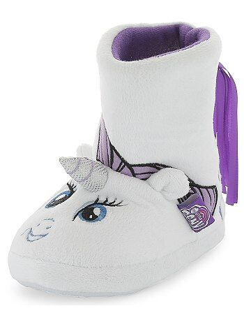Chaussons boots licorne `My Little Pony`