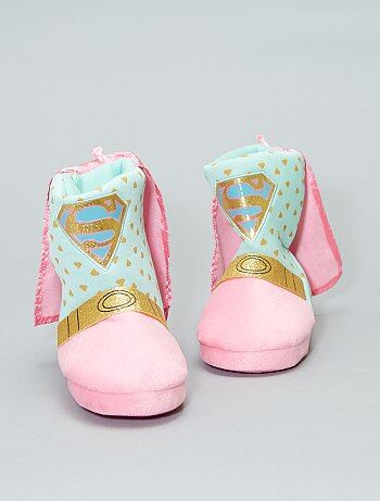 Chaussons boots `Supergirl`
