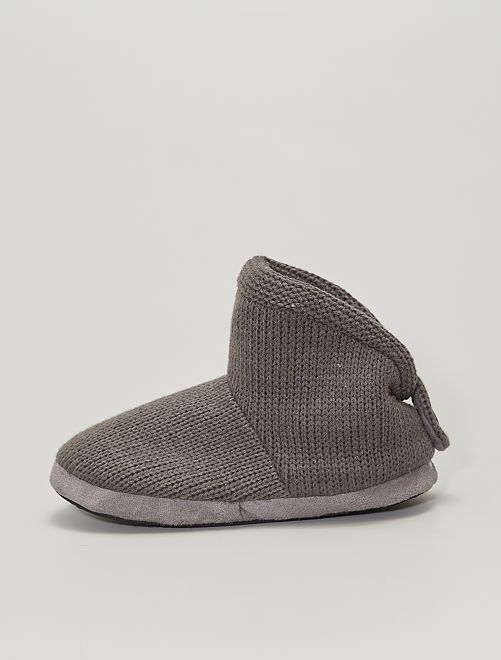 Chaussons boots                                         taupe