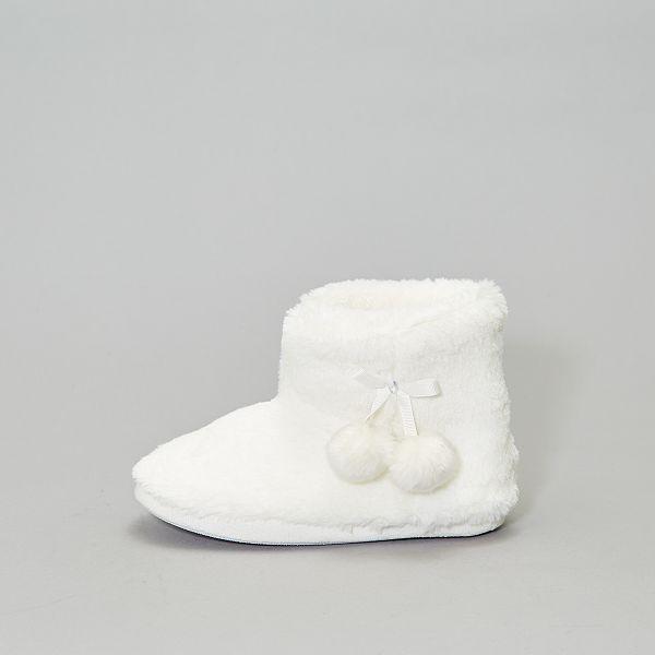 chausson femme botte