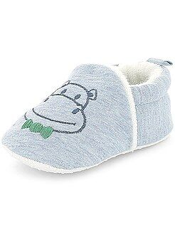 Chaussons - Chaussons broderie 'lapin' - Kiabi