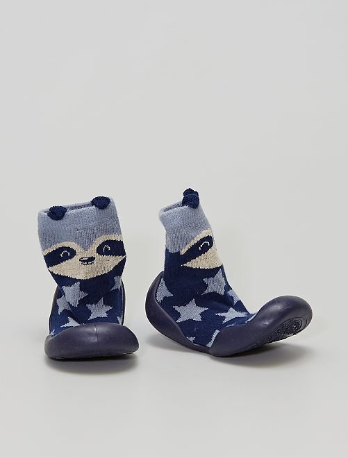 Chaussons chausettes                                         bleu navy